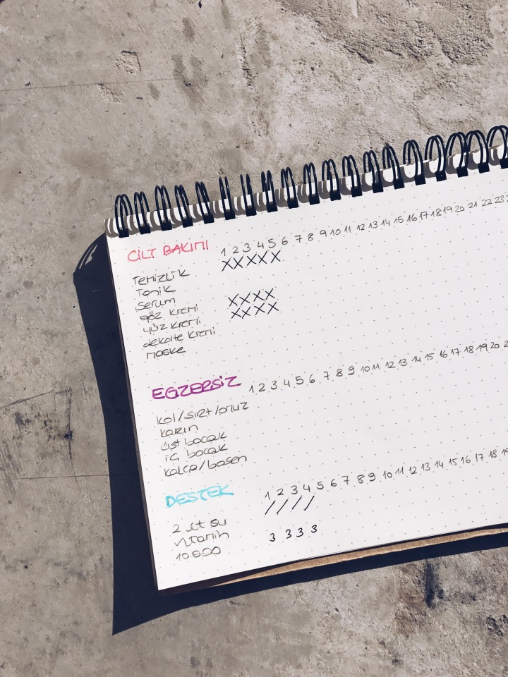 Notedotbook Noktalı Defter, Dotbook Bullet Journal